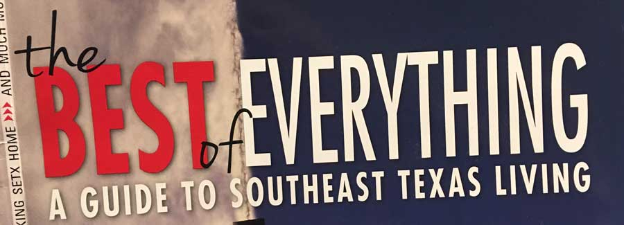 2016-17 The Best of Everything: A Guide to Southeast Texas Living